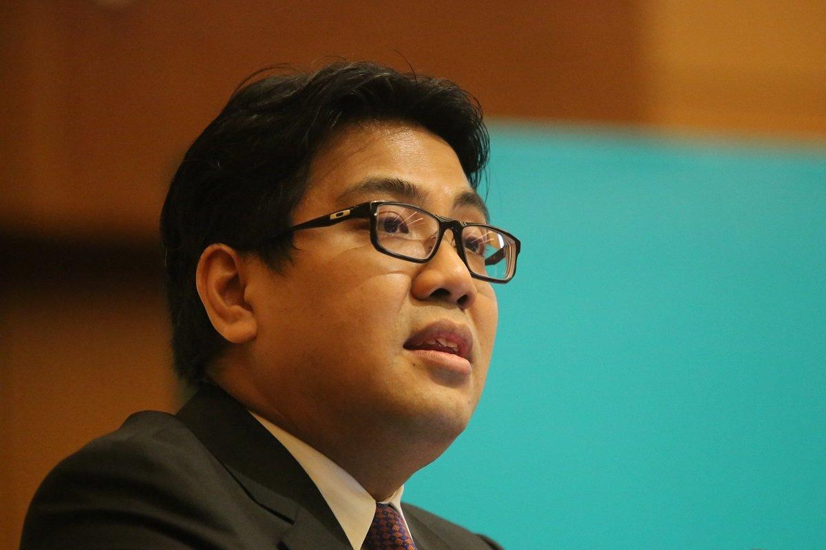 国油总裁兼集团总执行长Tengku Muhammad Taufik Tengku Aziz(摄影:Suhaimi Mohd Yusuf/The Edge)